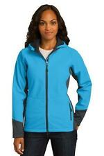 Port Authority Ladies Vertical Hooded Soft Shell Jacket Womens Jacket  L319