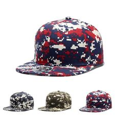 Fashion Unisex Women Men Baseball Cap Hip Hop Hat Snapback Camouflage bboy