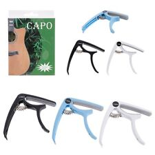 Premium Guitar Capo Quick Change Trigger Clamp for Acoustic Electric 12 String