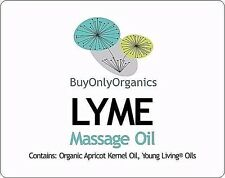 LYME DISEASE Remedy Young Living® Essential Oils - Massage Oil - Organic