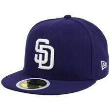 New Era 5950 Youth San Diego Padres 2017 HOME Fitted Hat (Navy) MLB Kid's Cap
