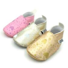 First Walker Baby Shoes Soft Sole Toddler Shoes Infant PU Leather Crib Shoes Hot