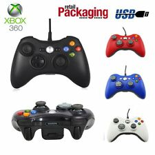 Xbox 360 SHAPE Wired USB Game Pad Controller for Microsoft PC XP Windows 7 US KJ