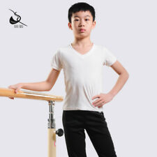 V Neck Dance Tops Boys and Mens Ballet Jazz Dancewear Baiw 11321217