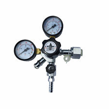 Co2 Regulator Dual Gauge Draft Beer Beverage Soda Homebrew Kegerator