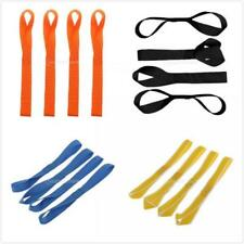 4x Soft Loop Tie-Down Straps for ATV Trailer Motorcycle Towing Hauling