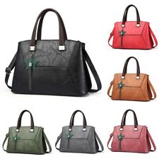 Tassel Womens Girls PU Leather Crossbody Messenger Shoulder Zipper Bag Handbag