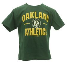 Oakland Athletics Youth Size official MLB Genuine Merchandise T-Shirt New Tags