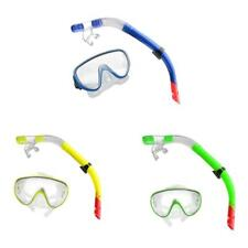 Snorkeling Equipment Scuba Diving Mask Snorkel Glasses Set with Breathing Tube