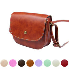 Fashion Women Candy Color Messenger Bags Chain Shoulder Bag Leather Crossbody