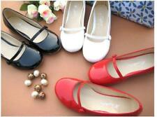 Retro Womens Cute Ballet Flats Round Toe Mary Janes Loafer Shoes Sweet Cute Hot*