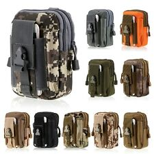 Army Combat Mini Waist Pack EDC Small Utility Molle Belt Pouch Airsoft Multicam