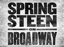 Springsteen on Broadway - 4th row! Orchestra Center - 2 tickets - October 26th
