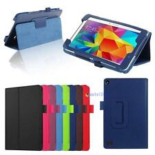 Slim Leather Folding Stand Case Cover For Amazon Kindle Fire HD 7 Tablet TR
