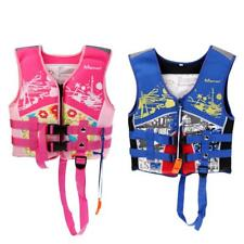 2-6 Years Old Kids Safety Life Jackets Vest for Boating Swimming Kayaking
