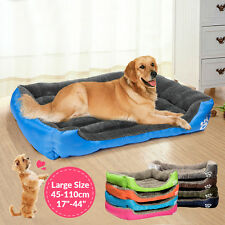 Soft Warm Pet Dog Cat Beds Cushion House Small Dog Kennel Cat Mat Blanket Bed