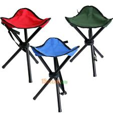 Portable Stool Foldable Three-legged Stool for Camping Fishing Hiking #ORP