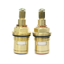 Replacement Basin Sink Brass 1/2'' Ceramic Disc Valve Cartridge for Hot&Cold Tap
