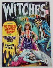 Witches Tales Magazine Vol. 5 #6 Eerie Publications Horror High Grade 1973