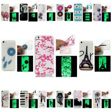 Dark Ultra-Thin Gel Glow Anti-Crystal Skin Protective Cover For iPhone 7