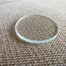 3.0mm Thick Flat Watch Crystal 27mm-45mm Mineral Glass Watch Parts 5pcs/Lot