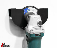 """4"""" Angle Grinder Wall Mounted Holder Store Hook Clip for 1 - 4 Angle Grinders"""