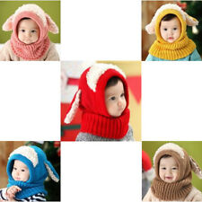 Shawls Cute Puppy Design Winter Knitted Hooded Scarf Neck Warmer Hat For Unisex