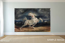 Horse Painting Reproduction CANVAS PRINT FRAMED or ROLLED choose size A2,A1,A0