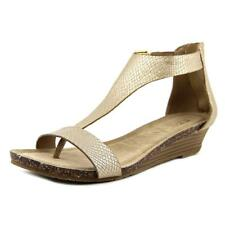 Kenneth Cole Reaction Great Step Women  Open Toe Synthetic  Wedge Sandal NWOB