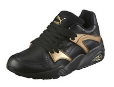 Puma Blaze Women's Shoes Gold Black Color Genuine Sneakers Free Ship