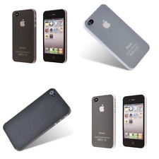 Ultra Thin Slim Hard 0.3mm Cover Case Skin Case for Apple iPhone 4s 4
