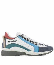 Dsquared2 Men's W17sn4041110m243 Multicolor Leather Sneakers
