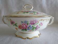 CROWN STAFFORDSHIRE DOUBLE HANDLED CASSEROLE DISH WITH LID