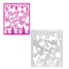 Xmas Metal Cutting Dies Stencil Scrapbook Album Paper Cards Embossing DIY Crafts