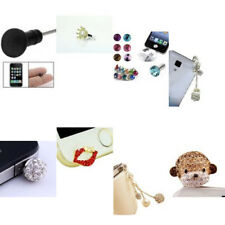 Bling Rhinestone Dust-proof Stopper Anti Dust Cap Plug For Iphone 4/4s/5/7/6/6Pl