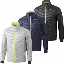Mizuno Golf 2017 Mens Padded Breath Thermo Full Zip Stretch Thermal Golf Jacket