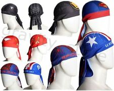 Men Unisex Bike Cycling Beanie Bandana hat superhero Superman Cyclist Headscarf