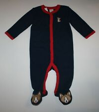 New Gymboree Outlet Navy Dog Puppy Sleep n Play Outfit NWT Newborn 0 3 6 9 Month