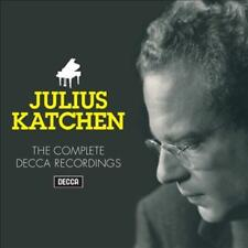 KATCHEN, JULES-JULIUS KATCHEN:THE COMPLETE DECCA RECORD USED - VERY GOOD CD