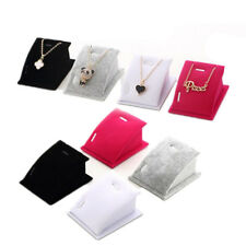 Pendant Necklace Fashion 1 Pcs Velvet Drop Chain Jewelry Display Holder