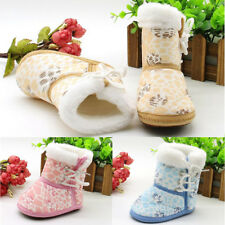1 Pair Snow Boots Toddler Infant Children Sole Casual Shoes Soft Baby Fashion