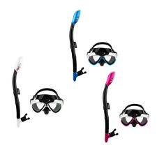 Adult Snorkelling Goggles Scuba Mask & Snorkel Set Swimming Diving for GoPro