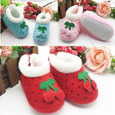 1 Pair Winter New Shoes Toddler's Hot Polka Dot Infant Soft Non-Slip Boots Baby