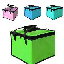 1 Pcs Insulated Beach Bag Lunch Picnic Bag Foldable Cooler Bag