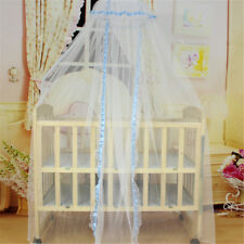 1 PC Baby Bed Mosquito Net Cute Princess Canopy Crib  Dome Bed Mosquito Net SU
