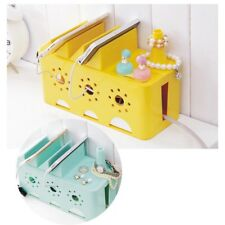 Useful Hot Storage Cable Box Lacquer DIY Electrical Outlet Power Wire Collection
