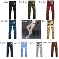 Men's trousers Cotton casual pants Autumn and winter Multi color Straight pants