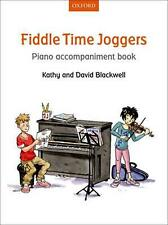 Fiddle Time Joggers Piano Accompaniment Book by Blackwell, Kathy