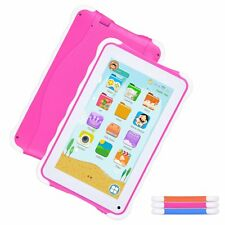 7'' Pad Google Android 4.4 Tablet PC 8GB WIFI Quad Core Kids Gift Education HD