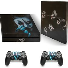 Playstation 4 Console Skin Vinyl Cover Decal Stickers + 2 Controller Skins Set